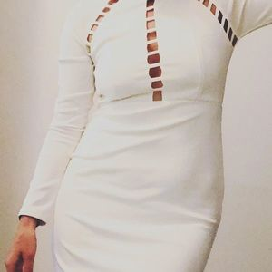 Charlotte Russe Dresses - White bodycon dress